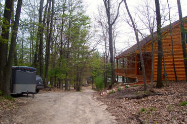 Grounds - 28 Log Cabin For Rent Spider Lake